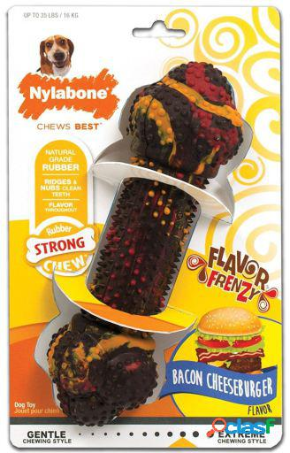 Strong chew bacon cheesburger m 295 gr nylabone
