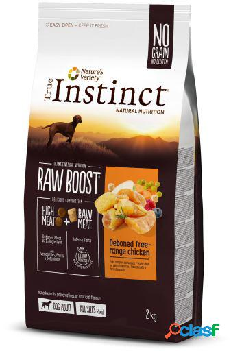 Raw boost pollo 10 kg nature's variety