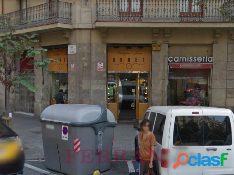 Local comercial en alquiler, aribau, barcelona.