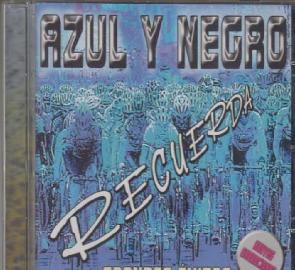 Azul y negro cd recuerda - grandes éxitos 2002