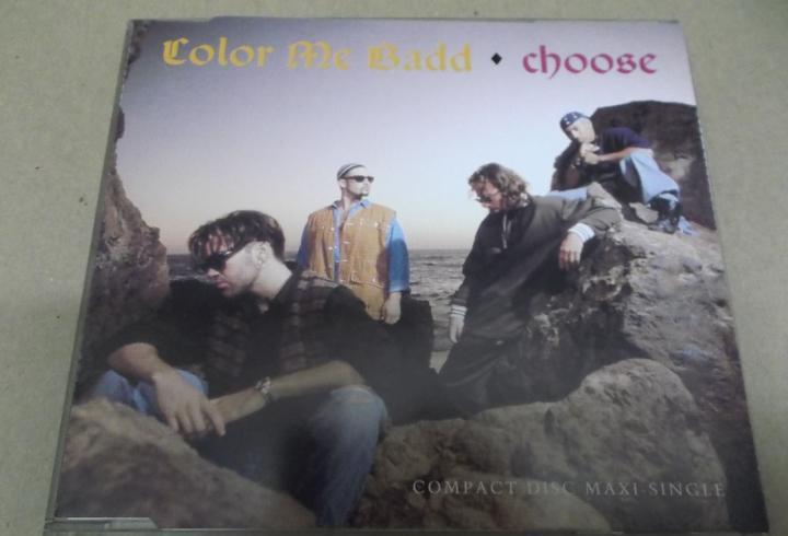 Color me badd (cd/single) choose (6 tracks) año – 1993