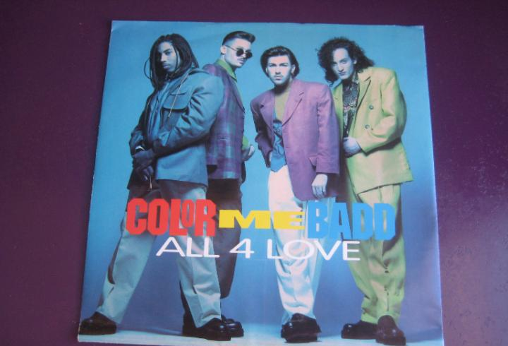 Color me badd – all 4 love - sg giant 1991 -