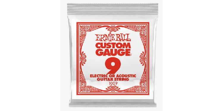 Ernie ball 1009 slinky plana cuerda para guitarra electrica