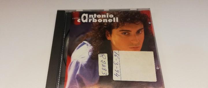 Js2 -antonio carbonell - cartas de amor - cd dis vg port vg