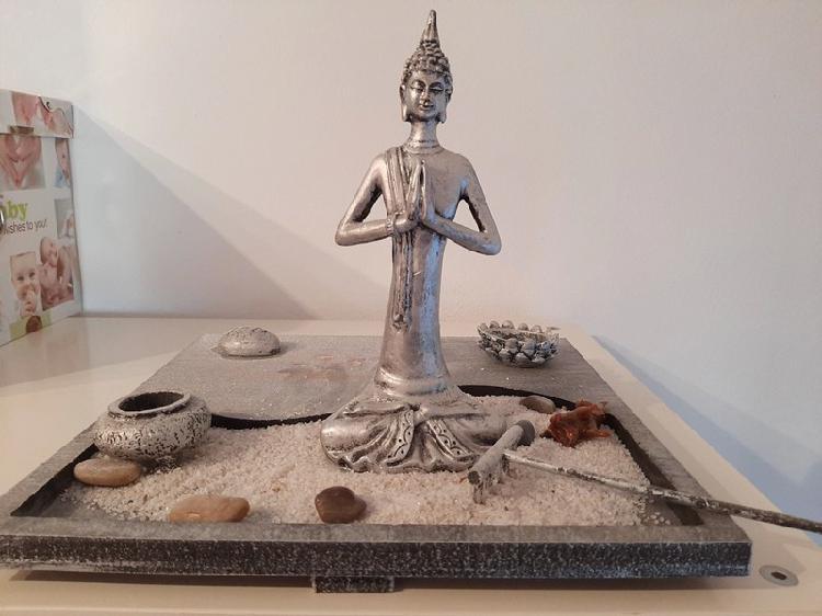 Jardín de mesa zen