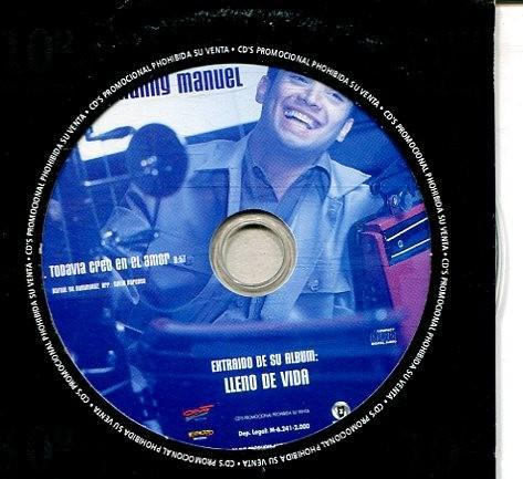 Manny manuel / todavia creo en el amor (cd sigle carton