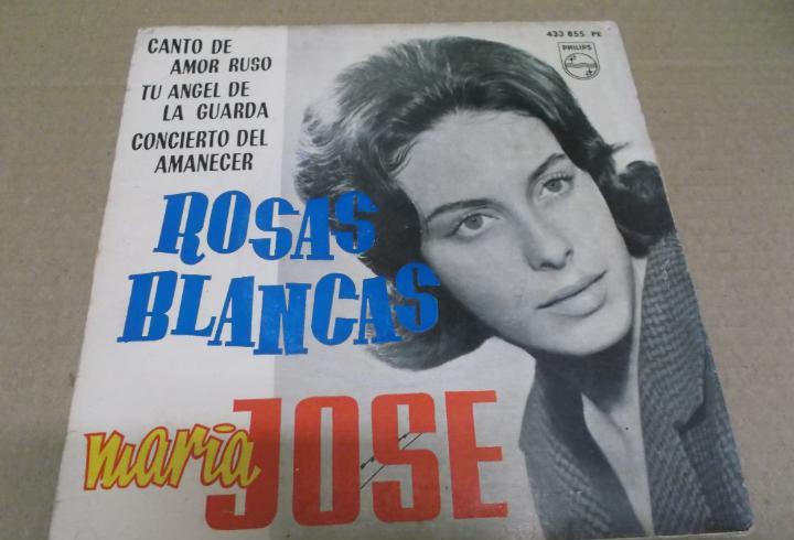 Maria jose (ep) rosas blancas año 1962