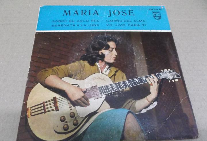 Maria jose (ep) sobre el arco iris año 1960