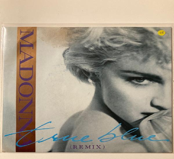 Madonna - true blue single vinilo. mirar fotos, tiene