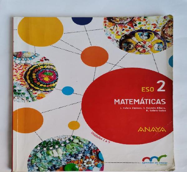 Matemáticas 2 eso anaya unidades 1 a 5