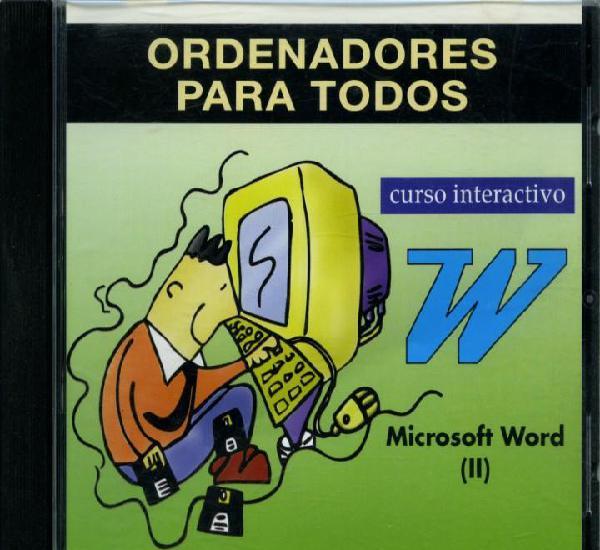 Ordenadores para todos. curso interactivo. microsoft word