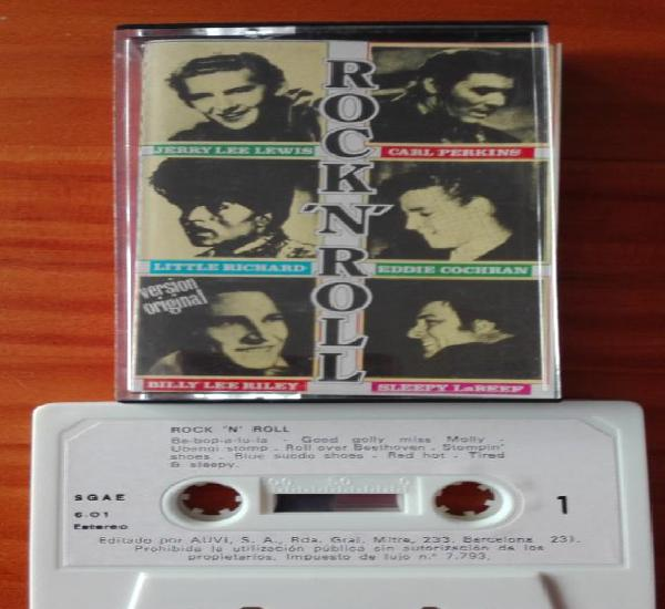 Rock 'n' roll cassette little richard, carl perkins, eddie