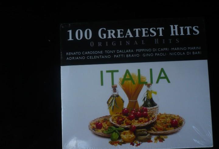 Italia - 100 greatest hits - pack de 5 cd's - nuevo