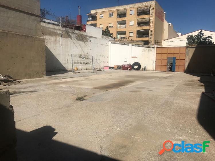 Solar residencial en venta situado en zona del barrio del cristo de aldaia