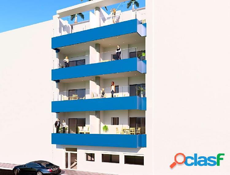 Nuevos apartamentos justo en la playa de El Cura en Torrevieja