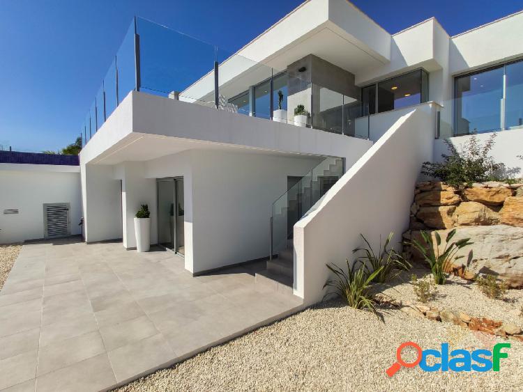 Increíble villa nueva y moderna con fantásticas vistas al mar en Benitachell 3