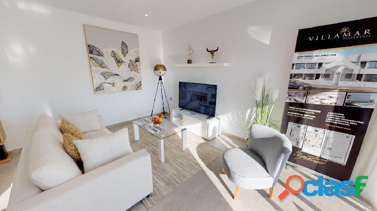 Apartamento de 2 habitaciones con solarium privado en San Pedro del Pinatar 1