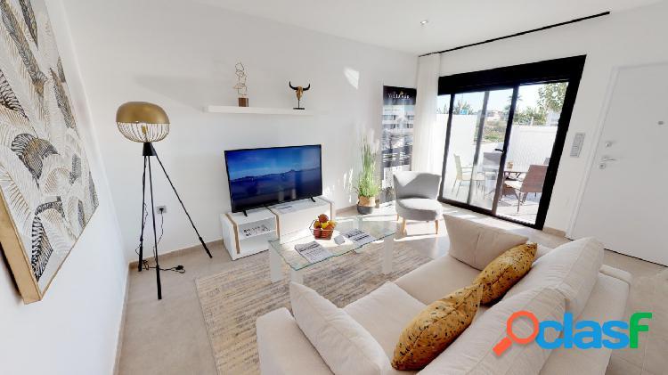Apartamento de 2 habitaciones con solarium privado en San Pedro del Pinatar 3