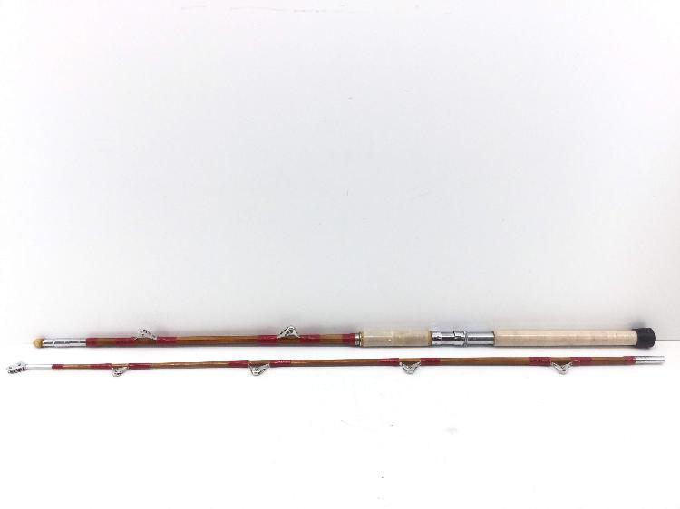 Caña de pescar enchufable bambu bambu