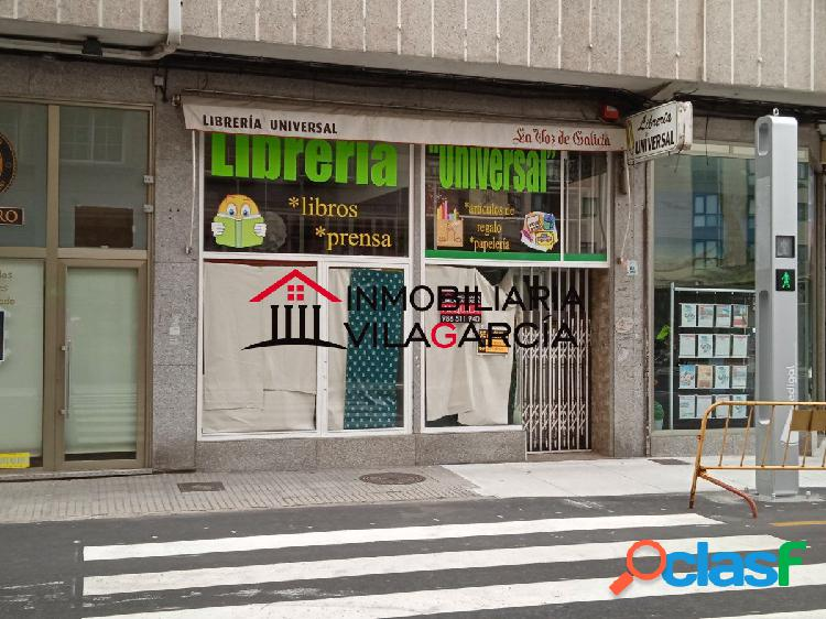 Alquiler local comercial centro vilagarcia