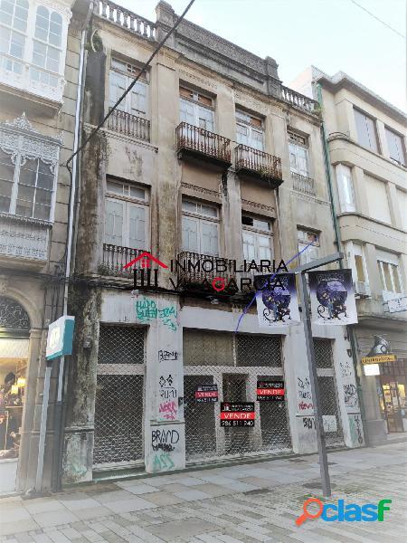 Edificio en venta calle rey daviña, vilagarcia