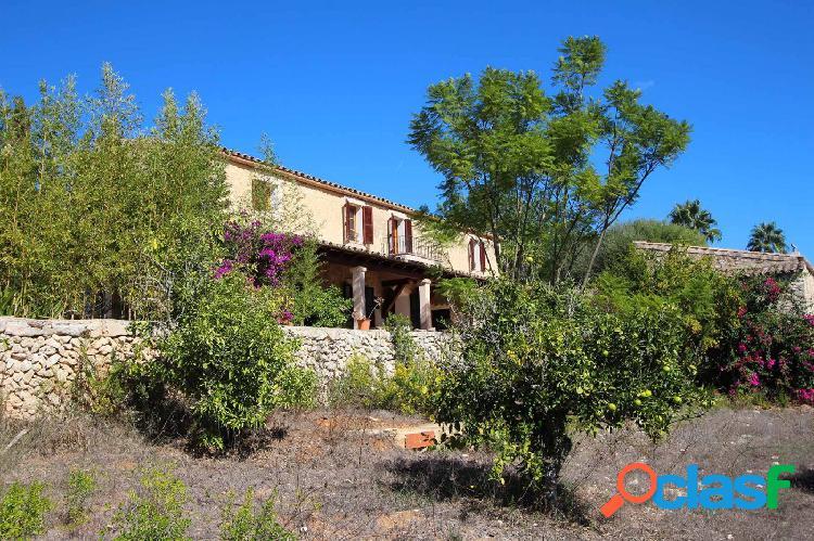 Finca con espectaculares vistas y apartamento de invitados en Montuïri 1