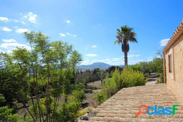 Finca con espectaculares vistas y apartamento de invitados en Montuïri 2