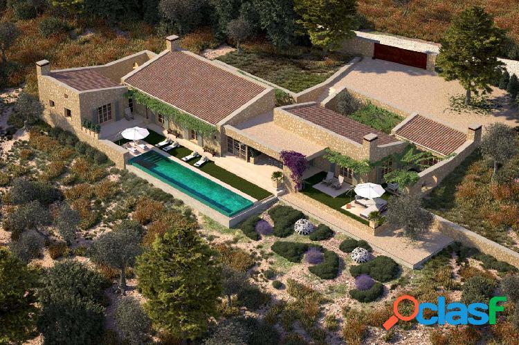 Precioso proyecto de diseño moderno en entorno muy tranquilo en son macià