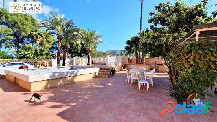 Benidorm, zona Mercadillo del Rincón - Chalet independiente con estudio y piscina. 3
