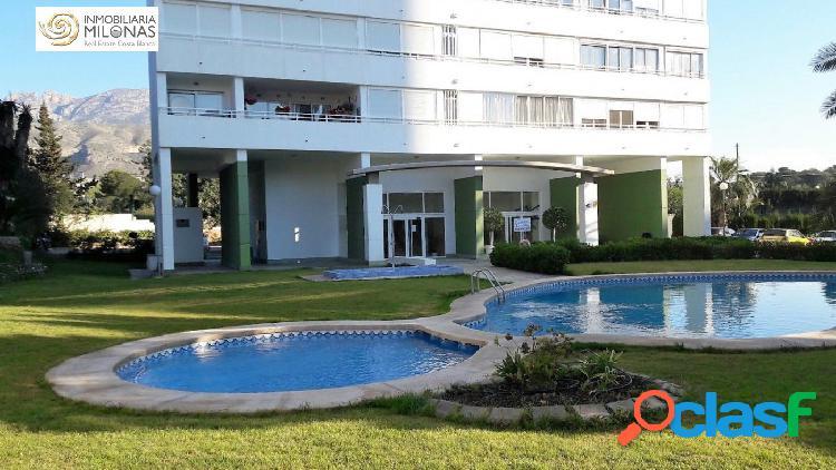 Zona poniente – bonito y amplio apartamento de 83m2 ubicado en preciosa urbanización con piscina