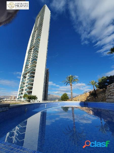Rincón de loix, zona alta – apartamento de 73 m2 con espectaculares vistas al mar y la ciudad.