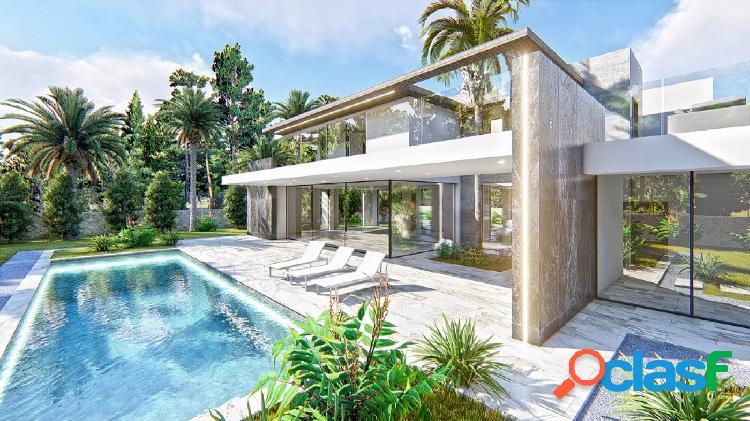 Villa moderna refinada en una zona privilegiada de Denia 1