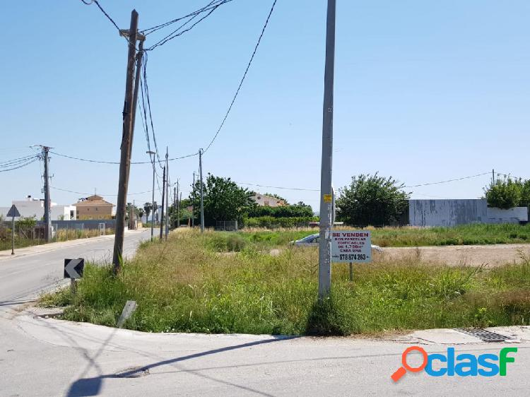 Parcela urbana con proyecto de chalet en torreagüera