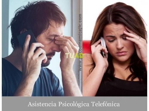 Psicoterapia telefónica. toda españa