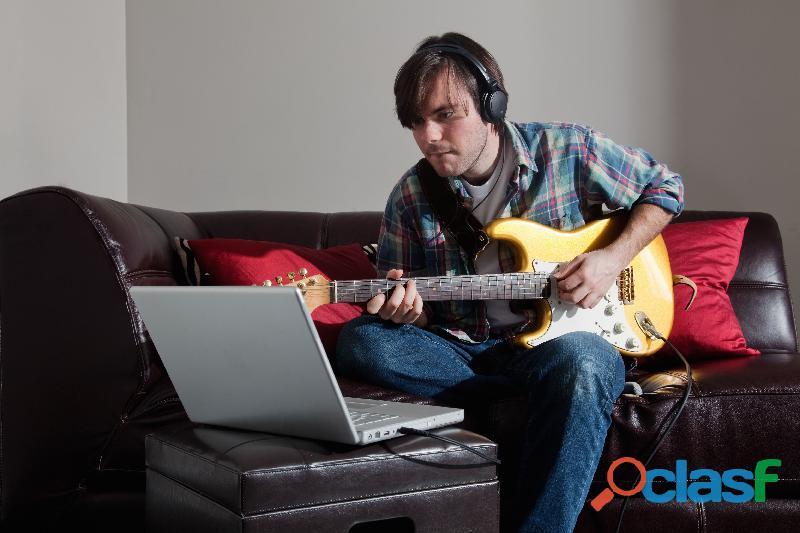Clases de guitarra acustica o electrica por zoom