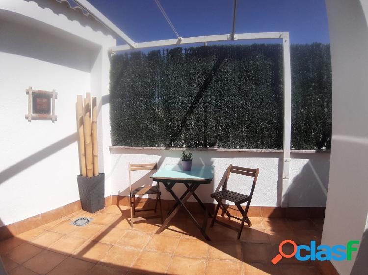 Piso en plantá ático con 2 dormitorios, 2 terrazas y plaza de garaje