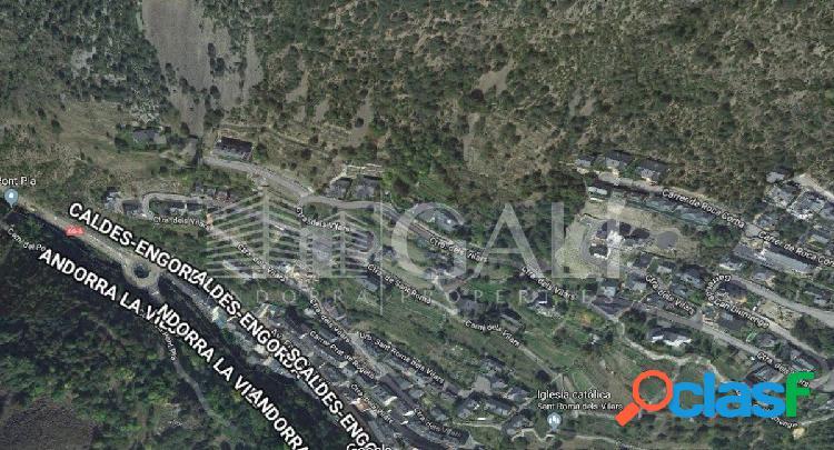 Terreno urbanizable en escaldes