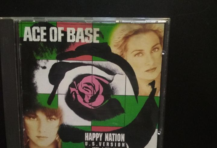 Ace of base happy nation u.s. version cd album 1993 pepeto