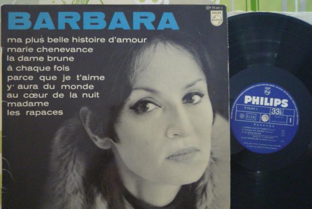 Barbara - barbara (philips, fr, 1967) mono