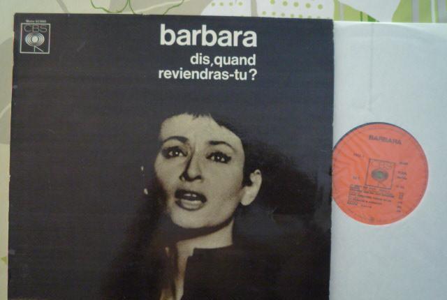 Barbara - dis, quand reviendras-tu ? (cbs, fr, 1969) mono
