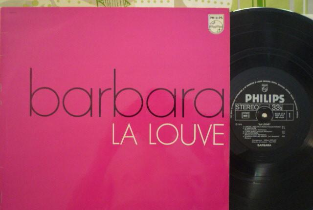 Barbara - la louve (philips, fr, re ¿70's?)