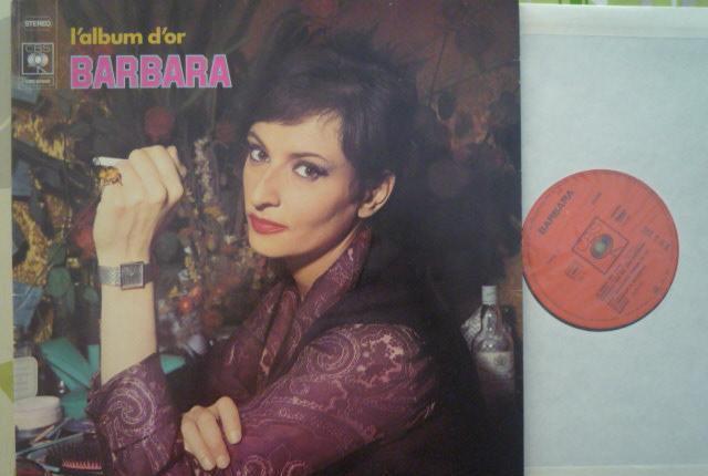 Barbara - l'album d'or (cbs, fr, 70's)