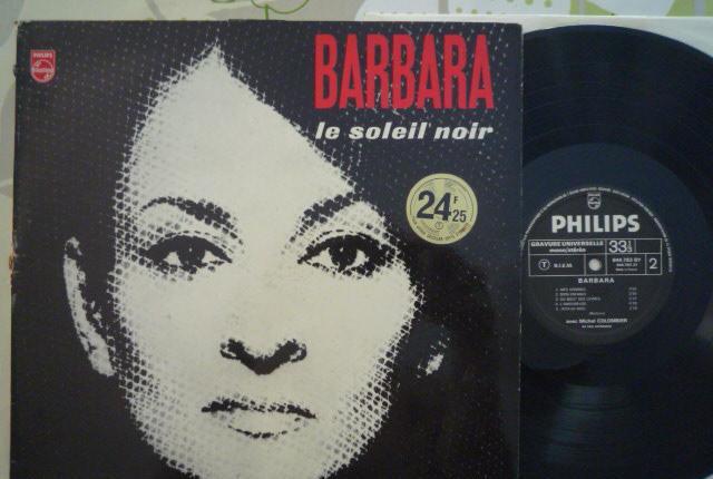 Barbara - le soleil noir (philips, fr, re ¿70's?)