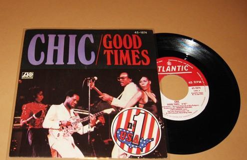 Chic - good times - single - 1979