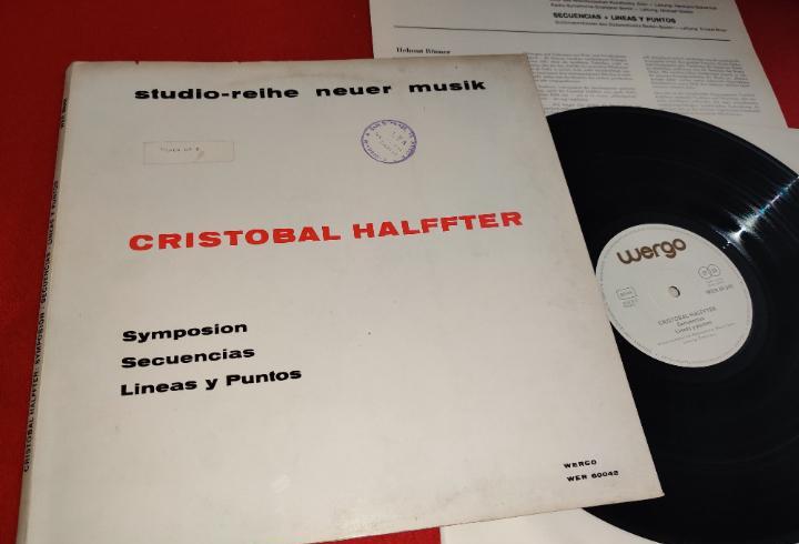 Cristobal halffter symposion+secuencias+lineas y puntos lp