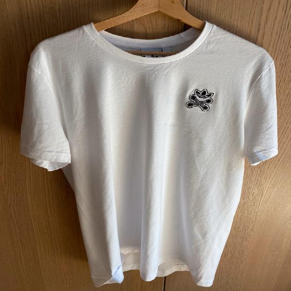 Camiseta blanca adidas skateboarding