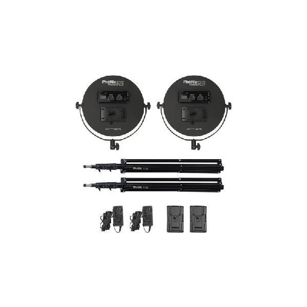 Comprar phottix kit twin led nuada r3 kit de dos paneles led