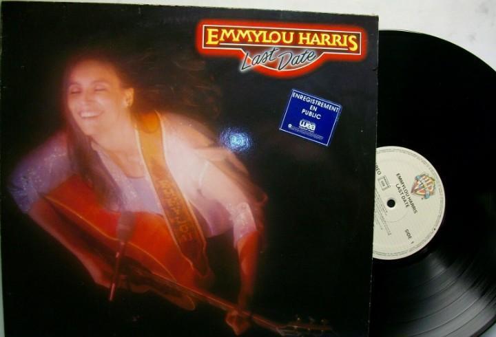 Emmylou harris last date vinyl lp