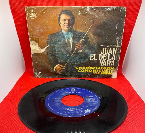 Juan el de la vara sg hispavox 1975 cariño gitano/ como