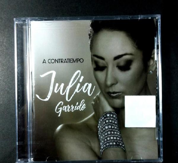 Julia garrido - a contratiempo - cd - altafonte (nuevo /